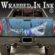 Tailgate Wrap A Shark Tank In Your Truck Bed Vinyl Graphics For Truck Or Wall