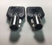 Replacement Key Blanks For Harley Davidson Twin Cam 2-key Blanks Safeco Brands