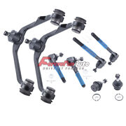 8pc Upper Control Arm Ball Joint Tie Rod For Ford F150 Expedition 2wd Rwd