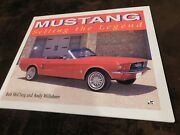 Ford Mustang Selling The Legend By Bob Mcclurg And Andy Willsheer Obsolete Book