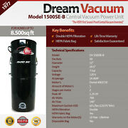 Built-in Vacuum Central Vacuum System Model 1500se-b From Our Sound-proof Series