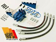 Ford Tractor New Hydraulic Remote Control Valve Kit 6410, 6610, 6710, 6810