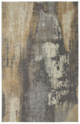 Mohawk Grey Faded Distressed Shaded Contemporary Area Rug Abstract 90634 94011