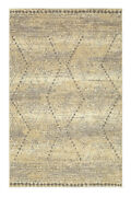 Mohawk Ivory Shaded Gradient Waves Contemporary Area Rug Geometric 90874 93016