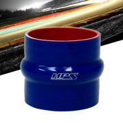 Hps 1.5 38mm Id Blue 4-ply Silicone Hump Coupler Hose 3 Length Intake Turbo