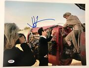 Daisy Ridley And Jj Abrams The Force Awakens Signed 11x14 Auto Photo Psa/dna Coa