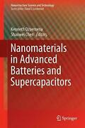 Nanomaterials In Advanced Batteries And Supercapacitors English Hardcover Book