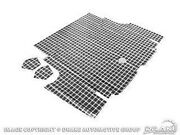 1965-1966 Ford Shelby Gt Mustang Trunk Mat - Plaid - Coupe/convertible Only