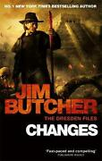 Changes The Dresden Files, Book Twelve By Jim Butcher English Paperback Book