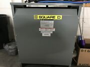 Square D Sorgel 75kva 480/277 To 208y/120 Volts 75t3h 3ph Dry Type Transformer