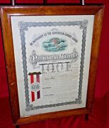 Ioof Independent Order Odd Fellows Patriarchs Militant Certificate Reading Pa 2