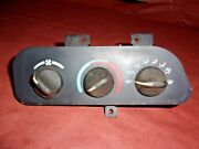 93-96 Camaro Z28 Rs White Lettering Ac Air Conditioner Climate Control Unit