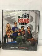 Binder Sale Album For The Big Bang Theory Seasons 1 And 2 Cards By Cryptozoic And03912