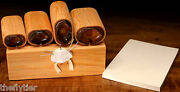 Deluxe Bonefish / Permit Crab Foam Body Cutter Set -- Fly Tying With Wood Caddy