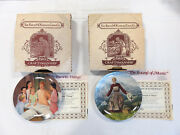 Sound Of Music Edwin M. Knowles Collectors Plates Set Of 2