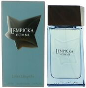 Lempicka Homme By Lolita Lempicka Cologne Edt 3.3 / 3.4 Oz New In Box