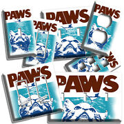 Funny Paws Jaws Cat Catching A Mouse Light Switch Outlet Plates Dorm Room Decor