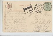 1906 Eire Pc Killarney To Cpe Town South Africa+cancel D1+stamp P.1/2-s255