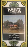 Woodland Scenics N Scale Two Big Old Trees Tk 26 7-7.5 Inches Tall