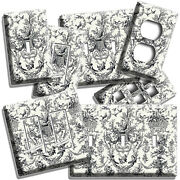 Old World Toile Victorian Pattern Hunting Light Switch Outlet Wall Plates Decor
