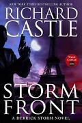 Storm Front A Derrick Storm Thriller By Richard Castle English Paperback Book