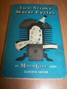 Two Stroke Motorcycles 1952 By The Motor Cycle Technical Book Engine Ignition