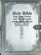Holy Bible King James Version With The Apocrypha And The Book Of Enoch English