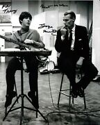 George Martin Signed 8x10 Photo / Autograph The Beatles Inscribed To Tracy