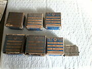 Vintage Geometric Tool Co. New Haven Ct. Thread Chasers. Lot Of 7.