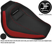Drk Red And Grip Vinyl Custom Fits Harley Davidson Breakout 18-19 Front Seat Cover