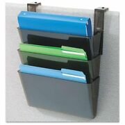 Deflecto 73504 Docupocket Three-pocket Partition Set Plastic Letter 13 X 4 X