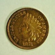 1874 Indian Cent Bu Questionable Color Reduced 5/18/21    3413nam