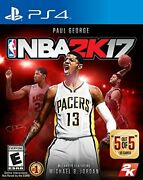 Nba 17 Standard Edition For Playstation 4 - Realistic Basketball Sports Game