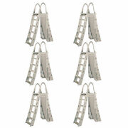 Confer Guard A-frame Above Ground Swimming Pool Ladder For 48-56 Pools 6 Pack