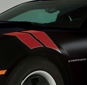 Gm Accessories 22798334 Fender Stripe Package 2012-14 Chevy Camaro Victory Red