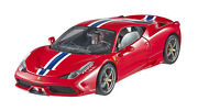 Hot Wheels Elite Ferrari 458 Speciale Red/blue Stripe 118almost Sold Out
