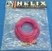 Helix 25ft Long 3/16 Id X 5/16 Od Fuel Line Red New 3/16 Solid Color Tubing