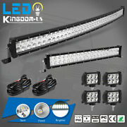 42inch Led Offroad Light Bar Combo + 22 +4 Pods Suv 4wd Ute For Ford Jeep 40