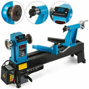 Wood Lathe 12 X 18 Digital Readout 550w Bench Top Cast Iron-up To 3800rpmand039s