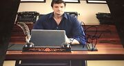 Nathan Fillion In Castle As Richard Hand Signed 11x14 Photo Coa Look