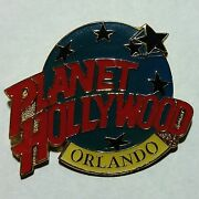 Vintage Planet Hollywood Orlando Metal Enameled Collectorand039s Pin Buy It Now