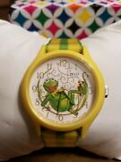 1979 Vintage Kermit The Frog Character Watch By Picco Classic Jim Henson Muppet