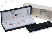 Masterpiece Tribute To The Mont Blanc Fountain Pen Stylo Plume
