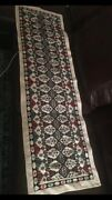 Embroidery Handmade Cross Stitch Table Runner/ Wall Hanging/ Picture Frame