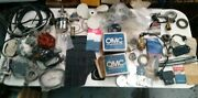 Assorted Large Lot Box Of Marine Outboard Parts New And Used