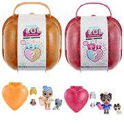 2x Lot Pink And Orange Lol Bubbly Surprise L.o.l. Limited Edition Dolls Doll Pet