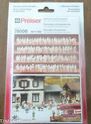 Preiser N Scale 79008 Passengers And Passers-by 1160th Scale Plastic