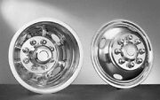 94 95 96 97 98 99 Dodge 3500 16 Wheel Liners Hubcaps Stainless Steel Set Of 4