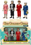 Rare Funko Golden Girls Reaction Set New Mint Condtion 2016 Comicon Exclusive