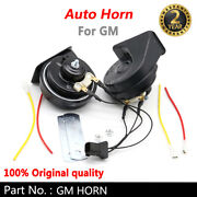 For Gm Series Black 12v Loud Auto Horn Snail Electric Air Horn Universal Abs
